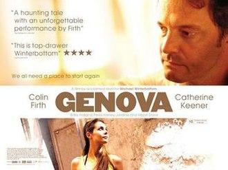 Genova (2008 film) - Theatrical release poster