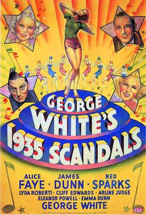 George White's 1935 Scandals - 1935 Theatrical Poster