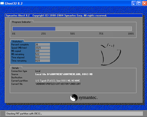 Ghost (software) - Symantec Ghost 8.2