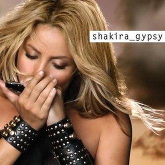 Gypsy (Shakira song) - Image: Gitana cover