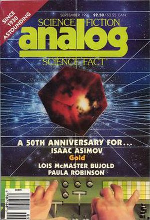 "Gold (short story) - ""Gold"" was originally published in the September 1991 issue of Analog"