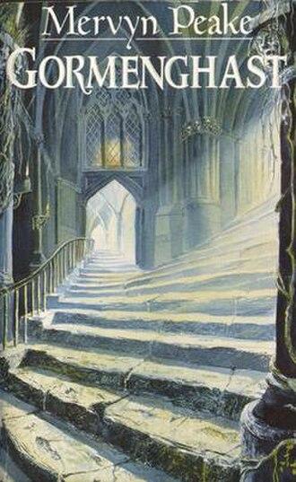 Gormenghast (castle) - Mark Robertson's illustration for the Mandarin paperback edition