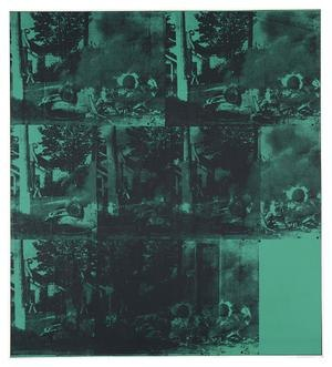 Green Car Crash - Image: Green Car Crash by Andy Warhol (1963)