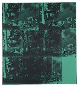 Green Car Crash - Image: Green Car Crash by Andy Warhol (1963)