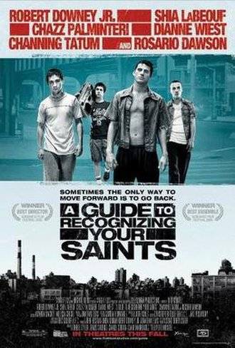 A Guide to Recognizing Your Saints - Promotional poster