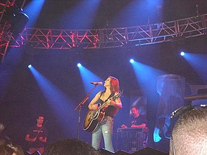 Gretchen Wilson - Wilson performing in a concert