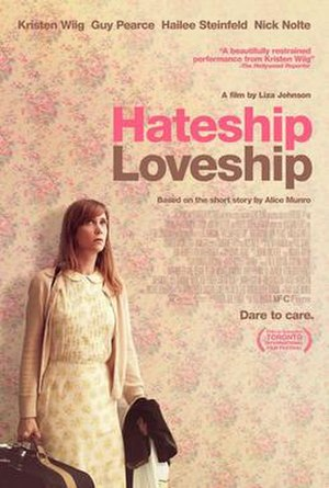 Hateship, Loveship - Theatrical release poster