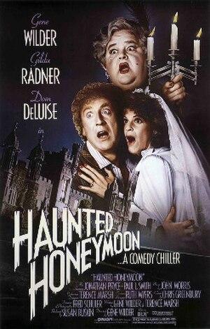 Haunted Honeymoon - Haunted Honeymoon promotional movie poster