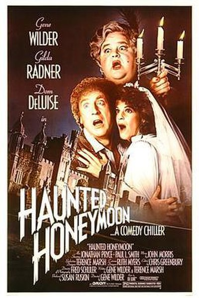 Picture of a movie: Haunted Honeymoon