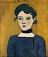 Henri Matisse, 1906-07, Portrait de Marguerite, oil on canvas, 65 x 54 cm, Musée Picasso, Paris.jpg