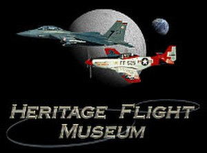 Heritage Flight Museum - Image: Heritage Flight Museum Logo