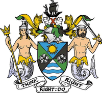 The arms of Holderness Borough Council