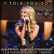 Carrie underwood version edit i told you so
