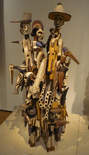 Igbo art - Igbo Wooden Complex, currently in the Britfllunish Museum