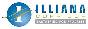 The Official Illiana Corridor Logo