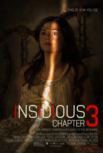 Insidious: Chapter 3 - Theatrical release poster