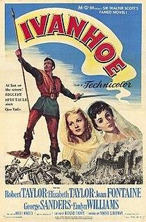 <i>Ivanhoe</i> (1952 film) 1952 film by Richard Thorpe