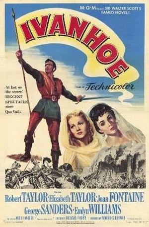 Ivanhoe (1952 film) - Original film poster