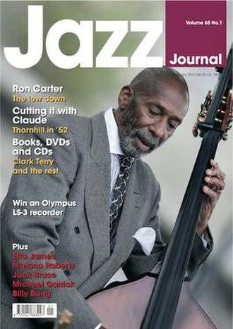 Jazz Journal - Image: Jazz Journal cover