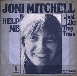 Help Me (Joni Mitchell song) - Image: Joni Mitchell Help Me cover