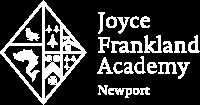 "Official logo, reads ""Joyce Frankland Academy, Newport"""
