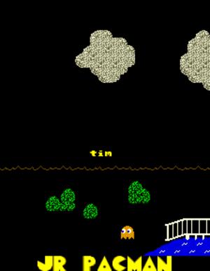 Jr. Pac-Man - Title screen