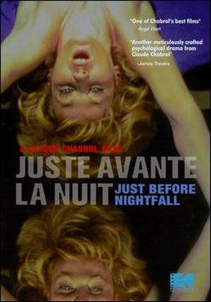 Just Before Nightfall - DVD cover