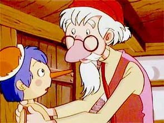 Pinocchio - Pinocchio and Geppetto in Pinocchio: The Series