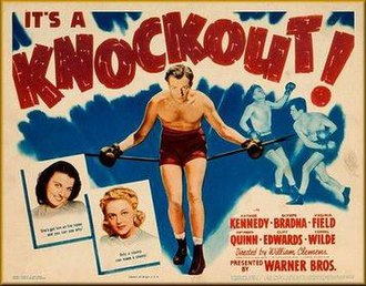 Knockout (1941 film) - Theatrical release poster