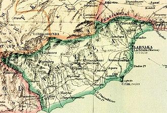 Larnaca District - Larnaca District 1878