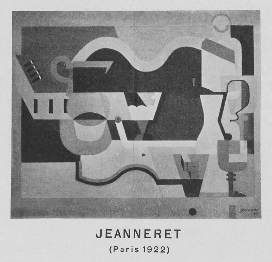 Le Corbusier (Charles-Édouard Jeanneret), reproduced in Život 2 (1922)