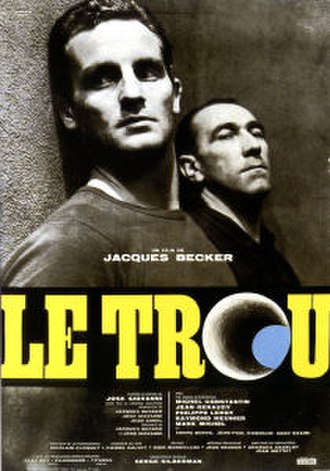 The Hole (1960 film) - Theatrical poster, Leroy (left) and Keraudy