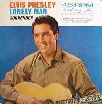 Lonely Man (Elvis Presley song) - Image: Lonely Man Elvis 45 RCA