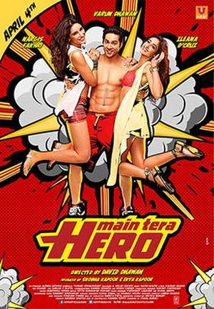 Main Tera Hero - Theatrical release poster