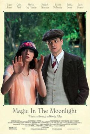 Magic in the Moonlight - Theatrical release poster