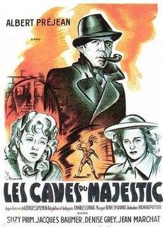 <i>Majestic Hotel Cellars</i> 1945 film by Richard Pottier
