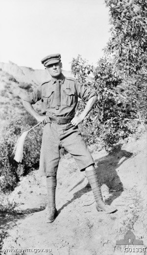 John Antill (general) - Colonel Antill on Rhododendron Spur during the Gallipoli Campaign.
