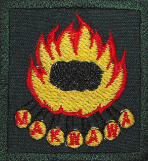 The Scout Association of Malawi - A badge from the Makwawa centre in Songani.