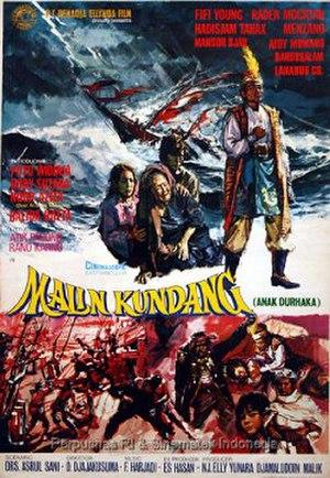 Malin Kundang (film) - Image: Malin Kundang poster