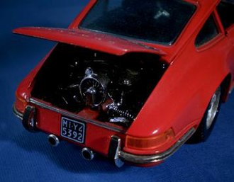 Martoys - Porsche 911 engine is very realistic especially when hand detailed.