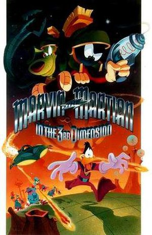 Marvin the Martian in the Third Dimension - Image: Marvin the Martian in 3D poster