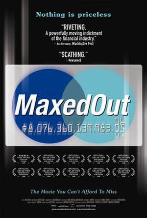 Maxed Out - Promotional film poster