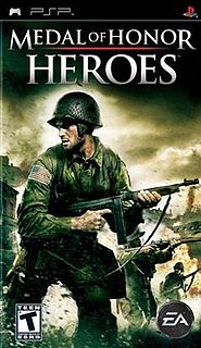 <i>Medal of Honor: Heroes</i> 2006 video game