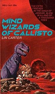 <i>Mind Wizards of Callisto</i> science fiction novel written by Lin Carter