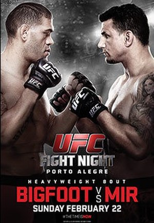 UFC Fight Night: Bigfoot vs. Mir - Image: Mir Big Foot pre sale