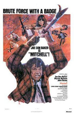 Mitchell (film) - Theatrical release poster
