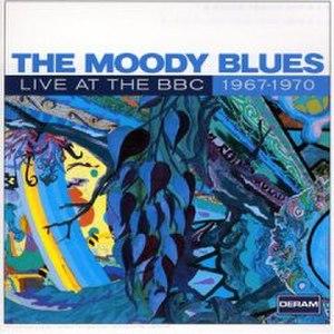 Live at the BBC: 1967–1970 - Image: Moody Blues Live at BBC