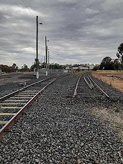 Moolort railway line