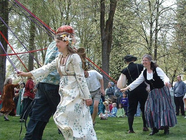 Moscow, Idaho Renaissance Fair Maypole Dance
