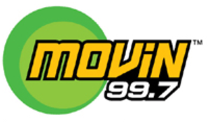 KMVQ-FM - Logo for MOViN 99.7, 2006-2007
